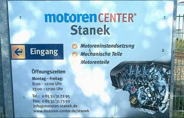 Motoreninstandsetzung Stanek