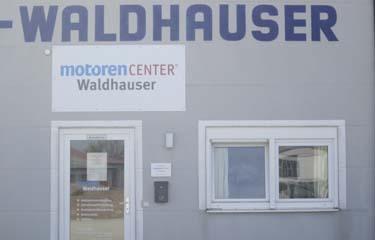 Motoren Waldhauser Eingang